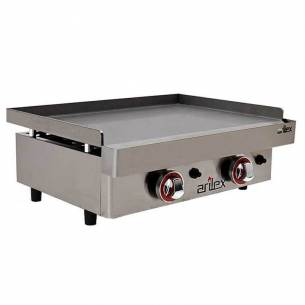 Plancha a Gas de Acero Laminado 6 mm. Arilex 60PGL (60x40 cm)-Z08560PGL