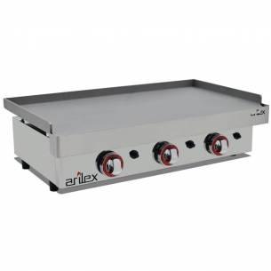 Plancha a Gas de Acero Laminado 6 mm. Arilex 80PGL (80x40 cm)-Z08580PGL