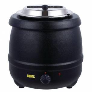 Olla calentadora de sopa Buffalo negra-Z093L715