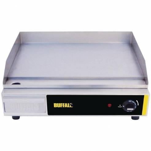Plancha eléctrica sobremesa Buffalo 525 x 450mm-Z093L515