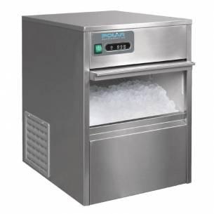 Máquina de hielo bajo mostrador 20kg de producción Polar