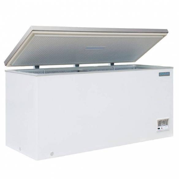 Arcón congelador Polar 516Ltr R600a