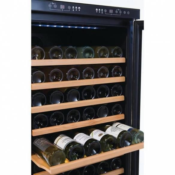 Cava de vino Dual Zone 155 botellas Polar