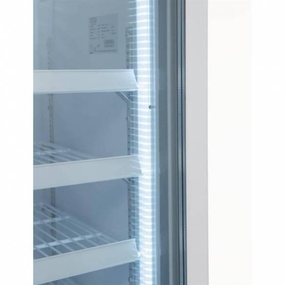 Vitrina congeladora Polar una puerta panel iluminación exterior-Z093GH506