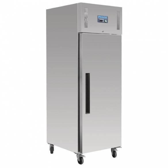Congelador Polar una puerta Euronorm acero inoxidable 850Ltr