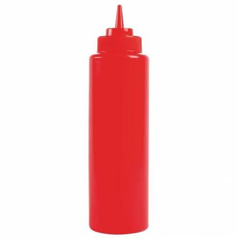 Botella para salsa rojo 340ml Vogue-Z093K093