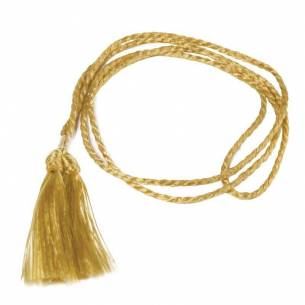 Cordón dorado para porta-menús