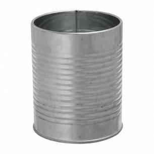 Lata presentación Olympia acero galvanizado metalizado 90(Ø)x110(Al)