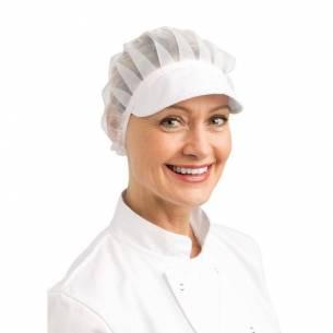 Sombrero redecilla con visera blanco Whites