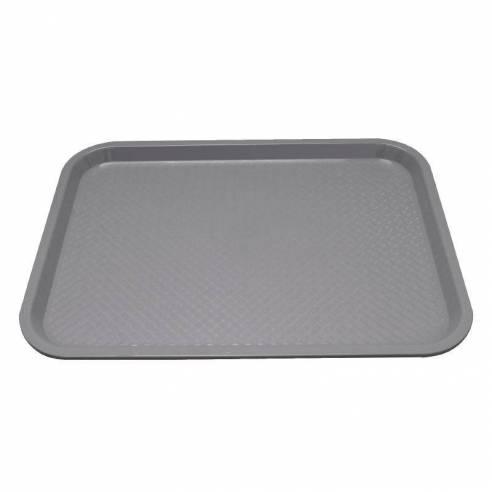 Bandeja de plástico para fast food Kristallon mediana gris-Z093P502