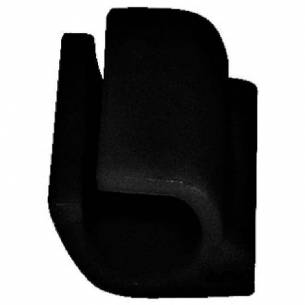 Clip negro Kristallon