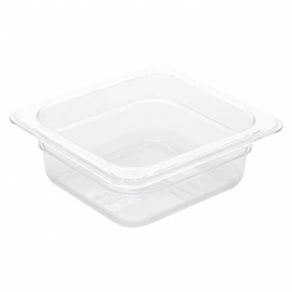 Cubeta Gastronorm policarbonato Transparente GN 1/6 GN 1/6 65mm-Z093U239