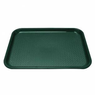 Bandeja Fast Food verde 350 x 450mm Kristallon