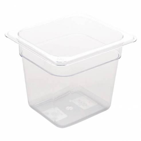 Cubeta Gastronorm policarbonato Transparente GN 1/6 GN 1/6 150mm-Z093U241