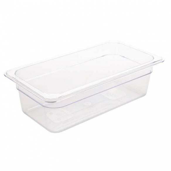 Cubeta Gastronorm policarbonato Transparente GN 1/3 GN 1/3 100mm-Z093U233