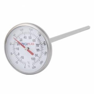 Termómetro de bolsillo Hygiplas redondo-Z093F346