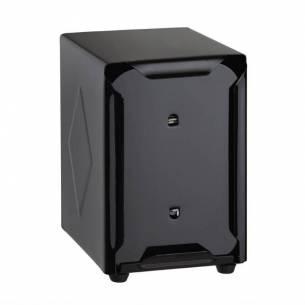 Dispensador servilletas Olympia doble cara negro-Z093CN753
