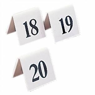 Juego de números para las mesas de plástico Olympia 31-40-Z093L984