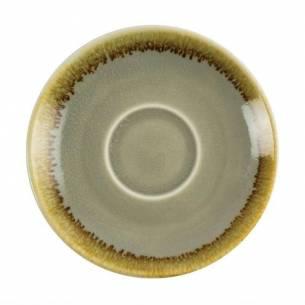 Platito para tazas de café espresso Olympia Kiln musgo 115mm-Z093GP477