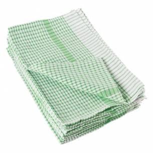 Paños de cocina Vogue Wonderdry verdes (Pack de 10)-Z093E700
