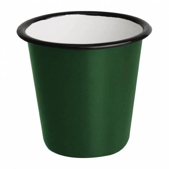 Salsera esmaltada Olympia verde - negro 115ml-Z093DC386