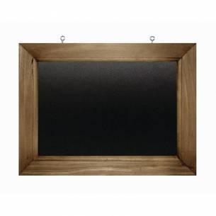 Pizarra de pared de marco de madera 300x 400mm Olympia