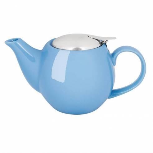 Comprar cafetera tetera olympia azul 510ml for Vajilla para bar