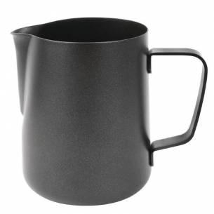 Jarra negra antiadherente para leche Olympia 900ml-Z093CM608