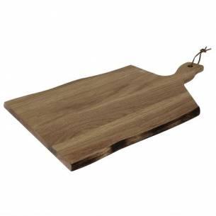 Tabla grande Olympia de madera de acacia borde ondulado-Z093GM264