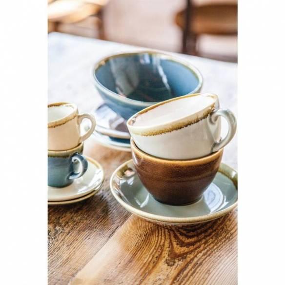 Tazas de café espresso Olympia Kiln océano 85ml-Z093GP344