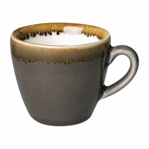 Tazas de café espresso Olympia Kiln Humo 85ml-Z093HC388