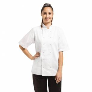 Chaqueta de cocina manga corta Vegas blanca-Z093A211-L