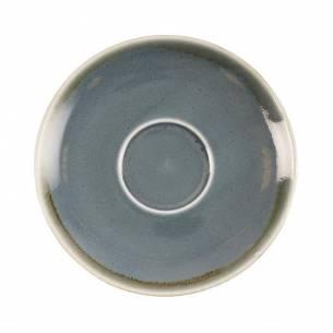 Platito para tazas de café capuchino Olympia Kiln océano 140mm-Z093GP347