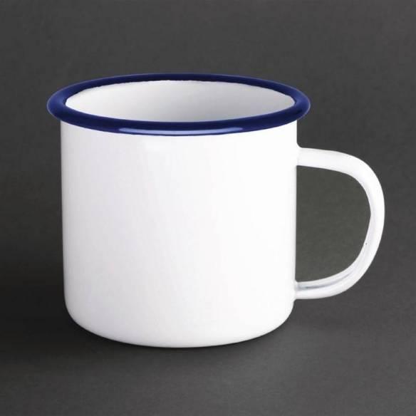 Tazón esmaltado Olympia azul - blanco 670ml-Z093DC398