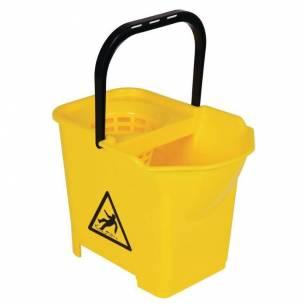 Cubo de fregona con código de color Amarillo