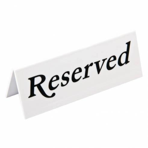 Cartel de mesa Reservado Olympia (Pack de 10)-Z093L988
