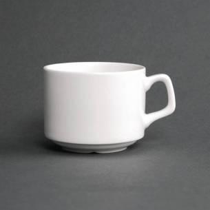 Taza apilable porcelana fina Lumina para plato CD646 200ml (Caja 6)
