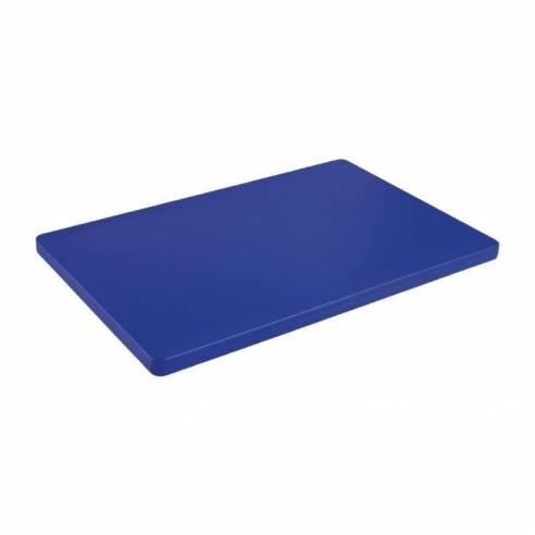 Tabla de cortar gruesa Hygiplas baja densidad azul-Z093DM005