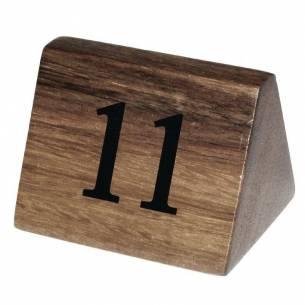 Números para mesa Olympia madera 11-20-Z093CL393