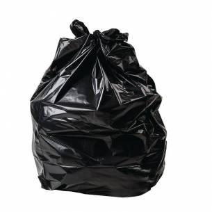 Sacos de basura negros Jantex 80Ltr (Pack de 200)-Z093GK688