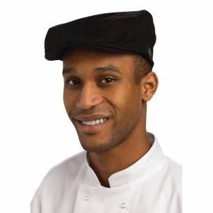 Gorra de conductor Chef Works negra-Z093B169-L