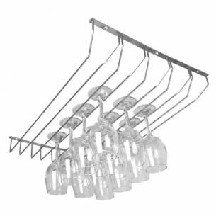 Rack para copas Olympia de hierro cromado-Z093GH057