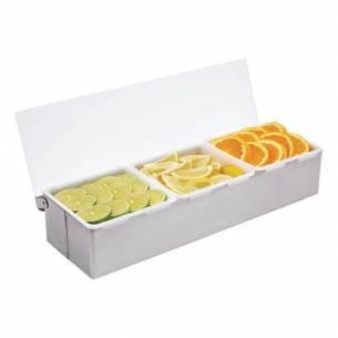 Dispensadores de condimentos Vogue 3 compartimentos-Z093K490