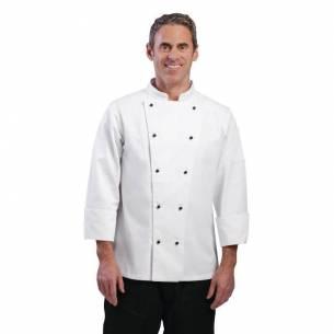 Chaqueta cocina Chicago manga larga blanca Whites-Z093DL710-M