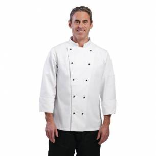 Chaqueta cocina Chicago manga larga blanca Whites-Z093DL710-S