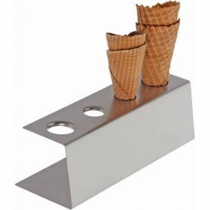 Soporte para cono de helado