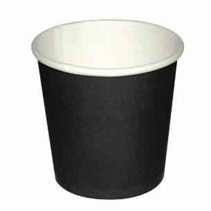 Vasos desechables para espresso negros Fiesta 114ml x1000-Z093GF018