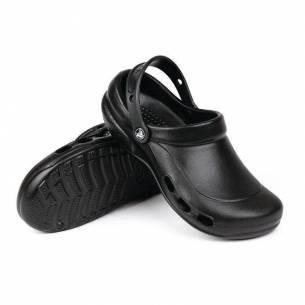Zuecos crocs ventilados negros Crocs-Z093A478-37.5