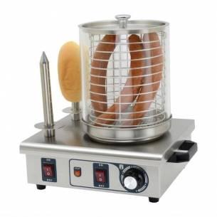 Máquina perritos calientes Buffalo 2 pinchos pan