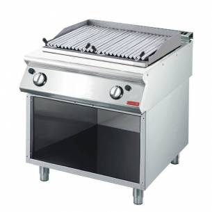 Grill roca volcánica a gas Gastro M 700 70/80 GRL